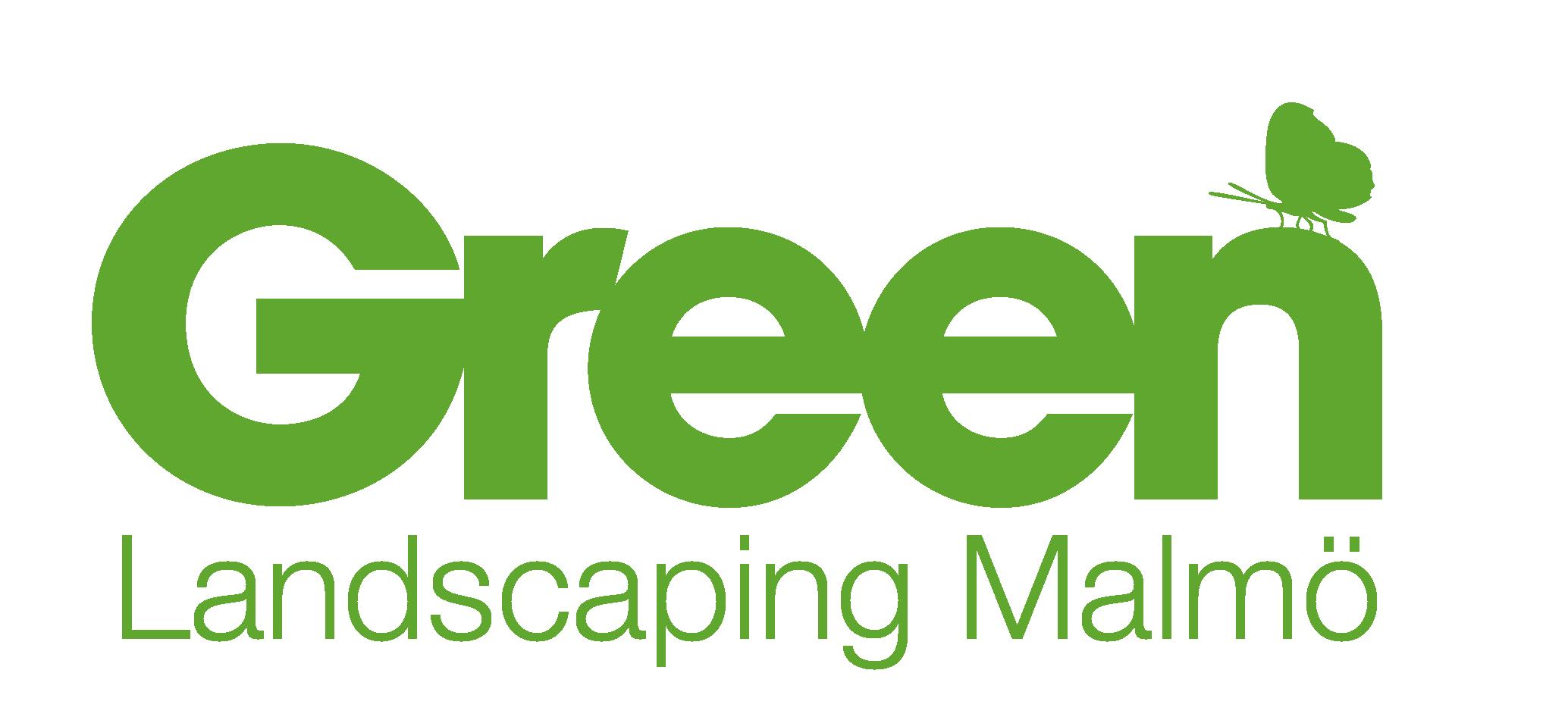 Logotyp Green Landscaping Malmö